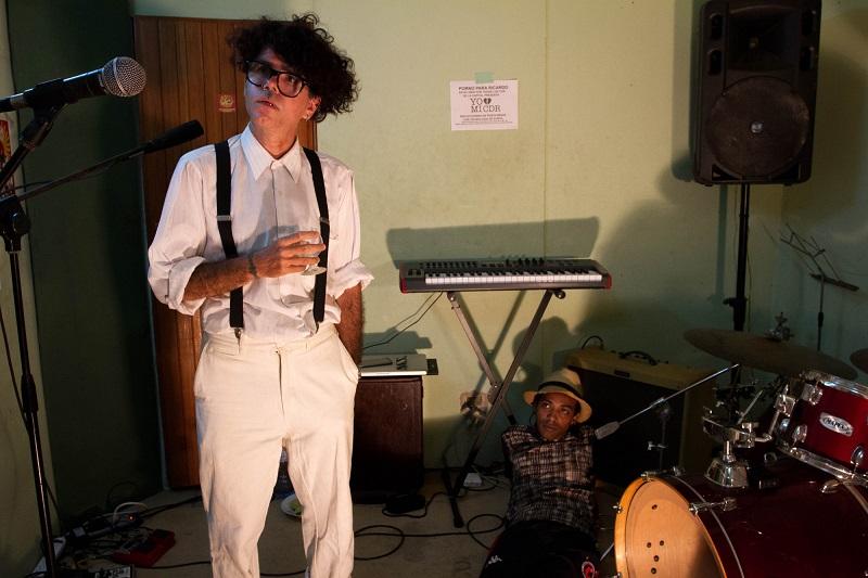 Gorki y Jimmy en la sala de ensayo de PPR / Foto: Dahian Cifuentes