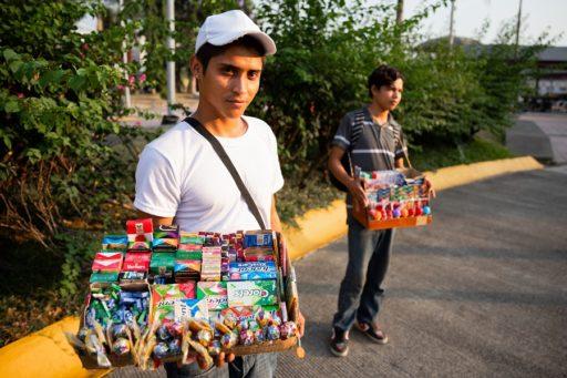 Chicos migrantes de Centroamérica. Tapachula, frontera sur de México / Foto: Stefano Morrone