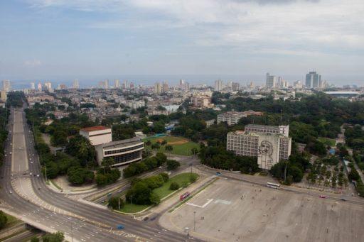 Plaza de la revolución.