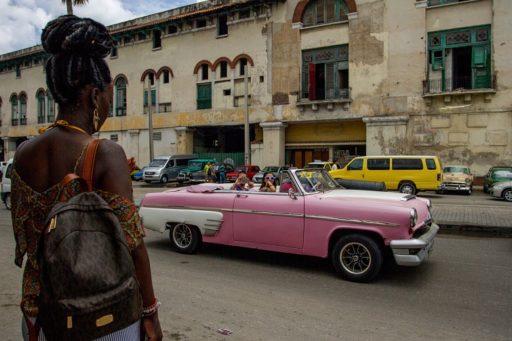 Turistas en Centro Habana / Foto: Dahian Cifuentes.
