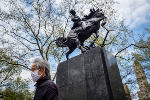 Arien Chang. José Martí Memorial, Central Park, Nueva York.