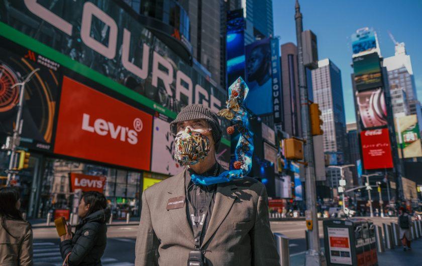 Arien Chang. Time Square, Nueva York.