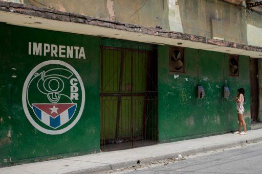 Imprenta CDR en Centro Habana / Foto: Dahian Cifuentes