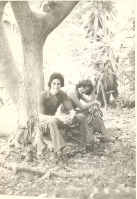 02.Pepino con su novia Baby, 1972 / Imagen tomada de Facebook.