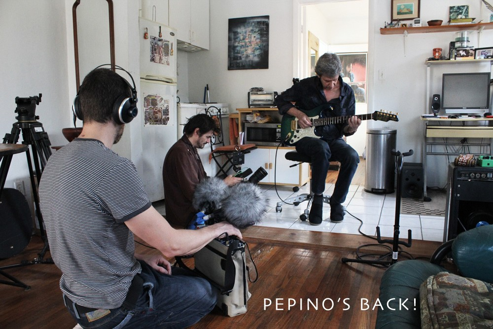 05.Pepino ensayando en Miami. Foto cortesía del músico.