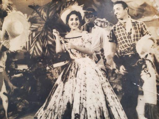 Nina Acosta de solista cerca de 1958 / Foto: Cortesía de la entrevistada