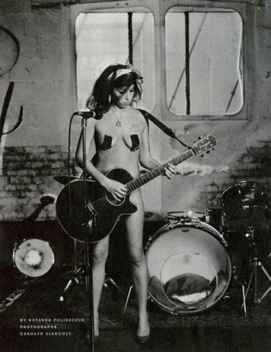 Amy Winehouse. Easy Living Magazine, abril de 2008 / Foto: Natasha Polyszczue