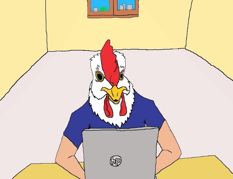 Crónica sobre la cola del pollo. Darío Alejandro Alemán