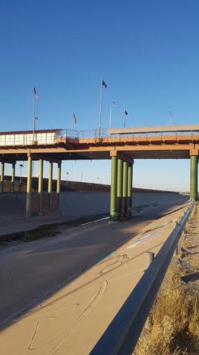 Puente fronterizo, Ciudad Juárez, México