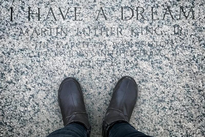 Frase de Martin Luther King / Foto: Cortesía de la autora
