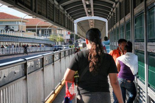 Puente internacional de Nuevo Laredo / Foto: Jesús Adonis Martínez