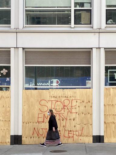 NY en pandemia / Foto: Cortesía de la autora