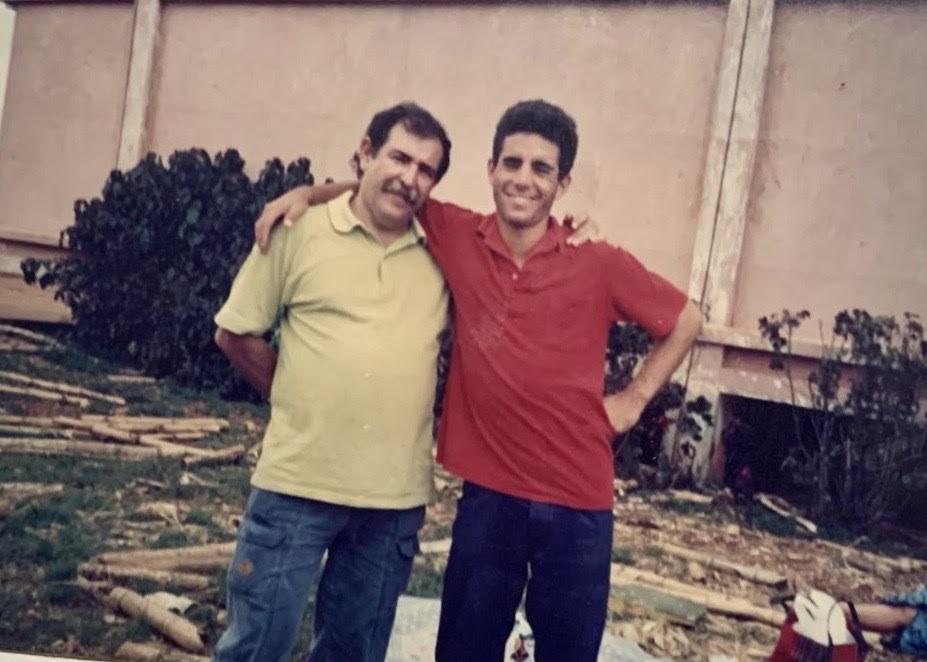 Juan e Ian Padrón / Foto: Cortesía del entrevistado