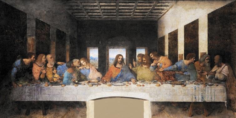 La última cena (1495-1498) / Autor: Leonardo da Vinci