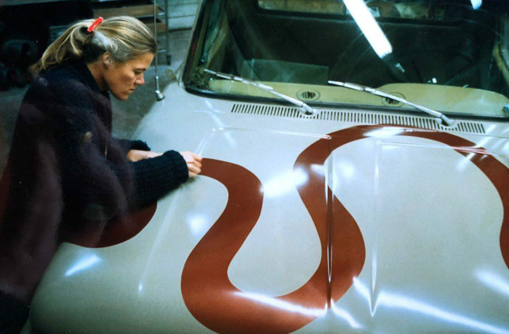 Carlotta Boettcher. Cars. (Cortesía de la artista)