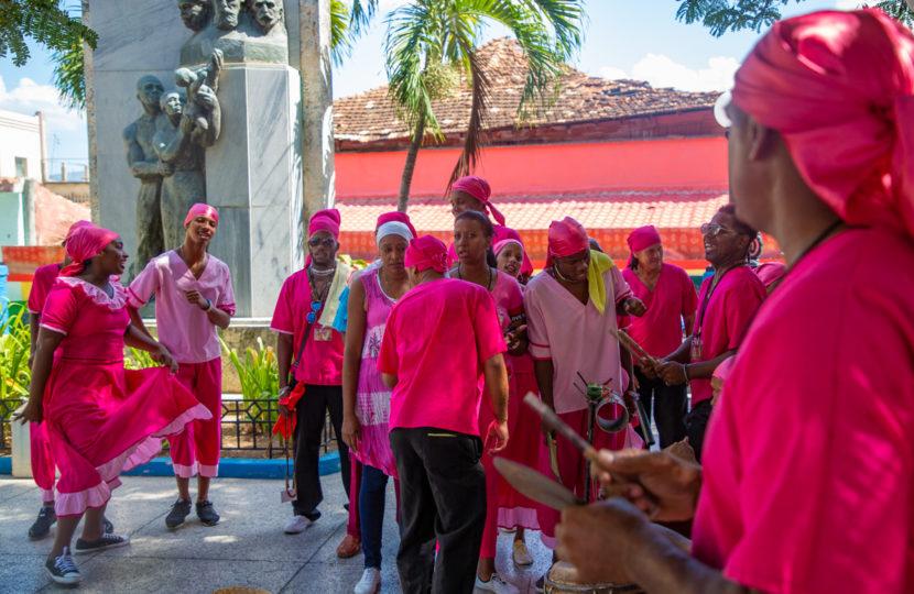William Riera. Deconstructing Santiago´s Colors (Festival del Caribe de Santiago de Cuba, 2019).
