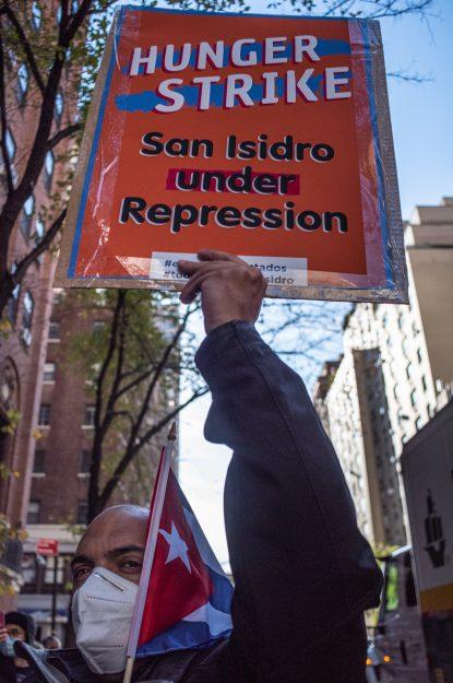 Arien Chang. San Isidro en Nueva York.