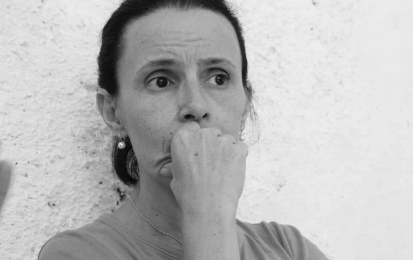 Katherine Bisquet. Inquilinos de Damas 955, San Isidro (La Habana Vieja).