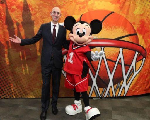 Adam Silver, comisionado de la NBA. Febrero de 2019 / Foto: Facebook de la NBA
