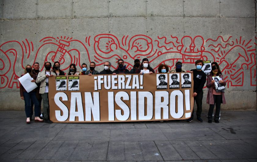Ariane Barret. Fuerza San Isidro (Barcelona).