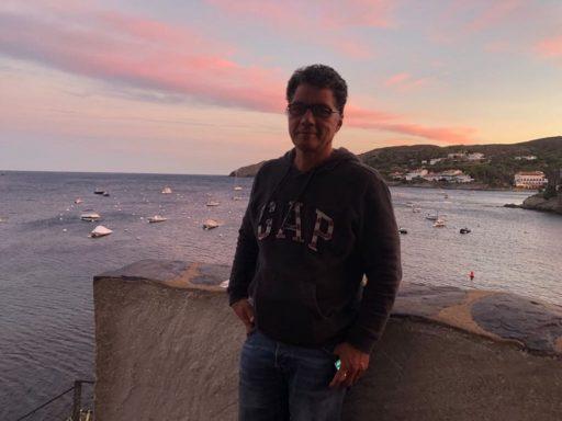 César Mora. Cadaqués, España, 2 de octubre de 2018. Foto: Rolando Prats. Cortesía del entrevistado.