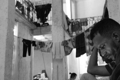 Maykel Osorbo, huelguista de San Isidro / Foto: Katherine Bisquet Rodríguez