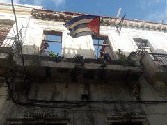 Bandera en San Isidro / Foto: Tomada de Facebook del Movimiento San Isidro