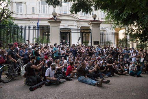 Artistas, intelectuales y sociedad civil frente al MINCULT