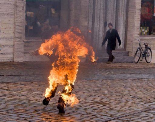 El suceso de Mohamed Bouazizi hizo que muchos otras personas se prendieran fuego a modo de protesta / Foto: Matt Mortensen-Medium