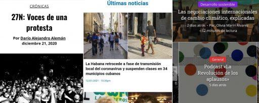 Medios independientes cubanos