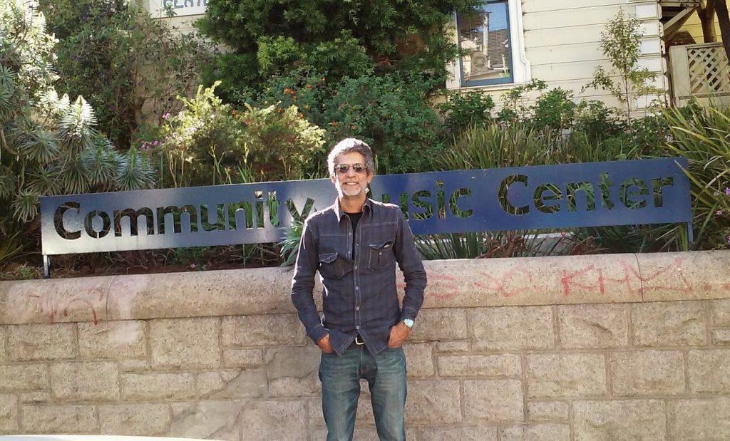 Eduardo Corzo en San Francisco / Foto: Cortesía del entrevistado