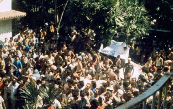 Embajada de Perú. La Habana (Cuba), 1980/ Foto: AP