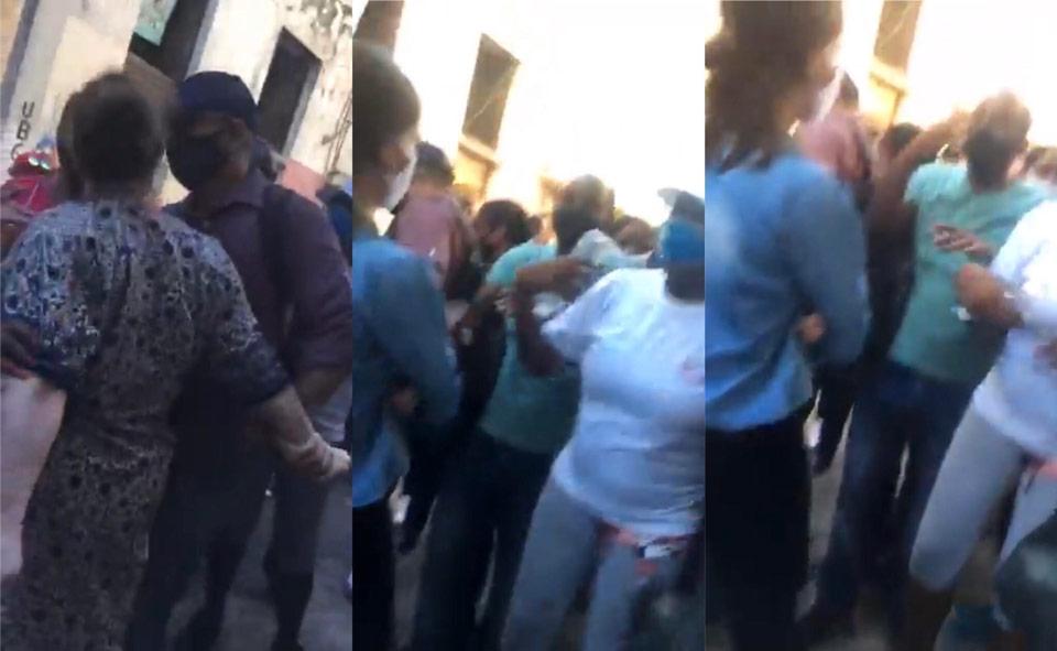 Acto de repudio en La Habana / Imagen: Capturas de pantalla/Facebook