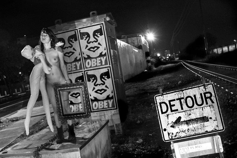 Osiris Cisneros. Detour, 2016.