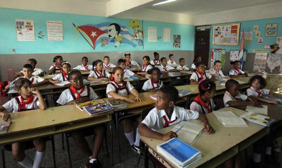 Escuela en Cuba / Foto: Cubadebate