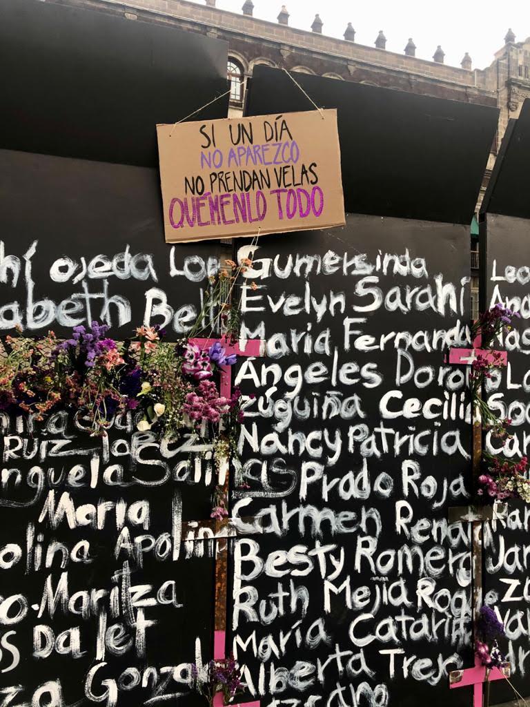 Ciudad de México, marzo 2021 / Foto: Cortesía de Guadalupe Nettel