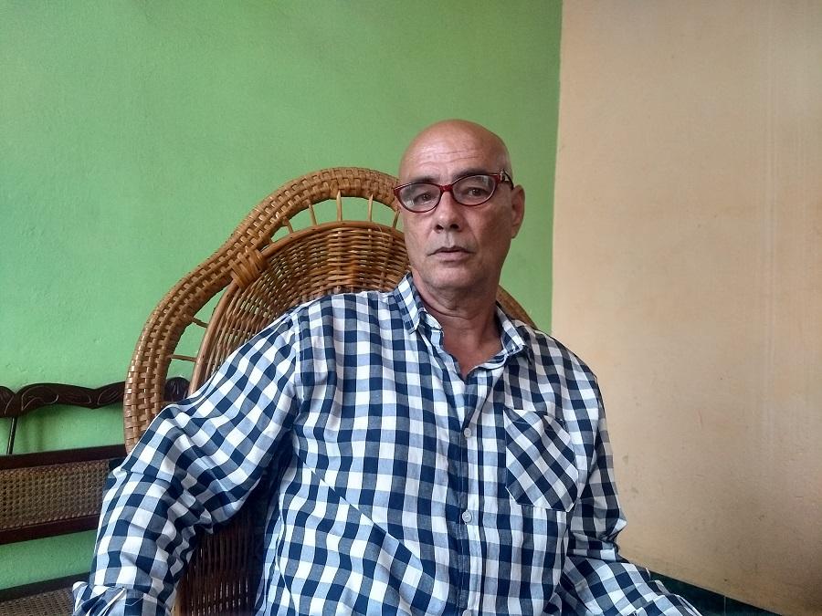 Jorge Ángel Pérez. La Habana, 2021. Cortesía del entrevistado.