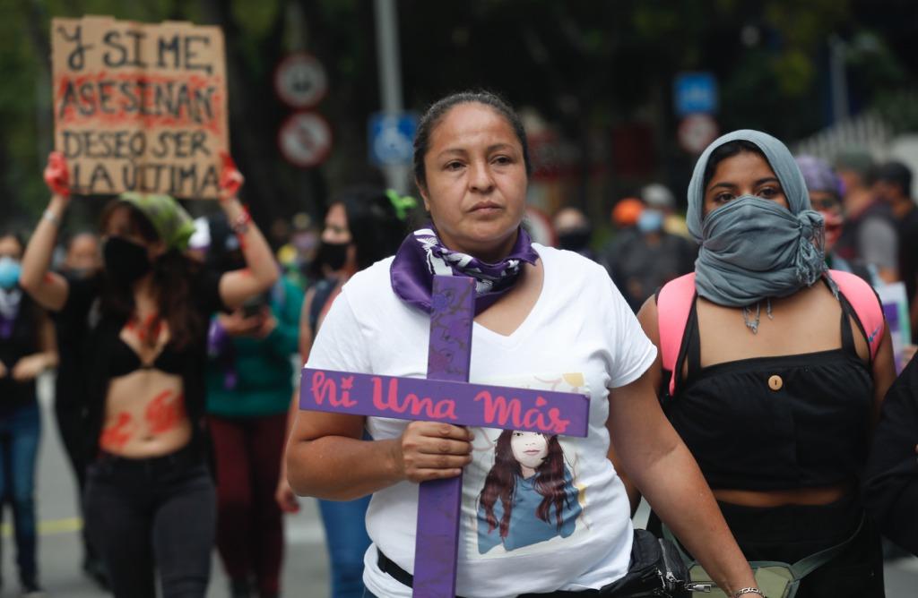 Marcha feminista en CDMX, 2020