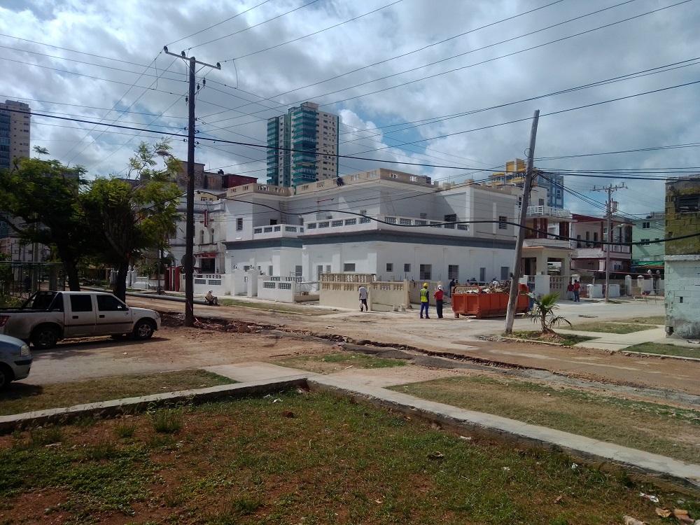 Construcción en el Vedado
