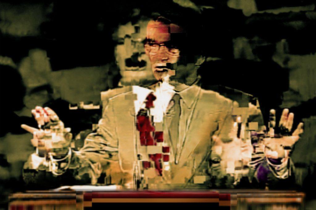 Juan-Sí González. Alterations: Mental Models. «The Preacher».