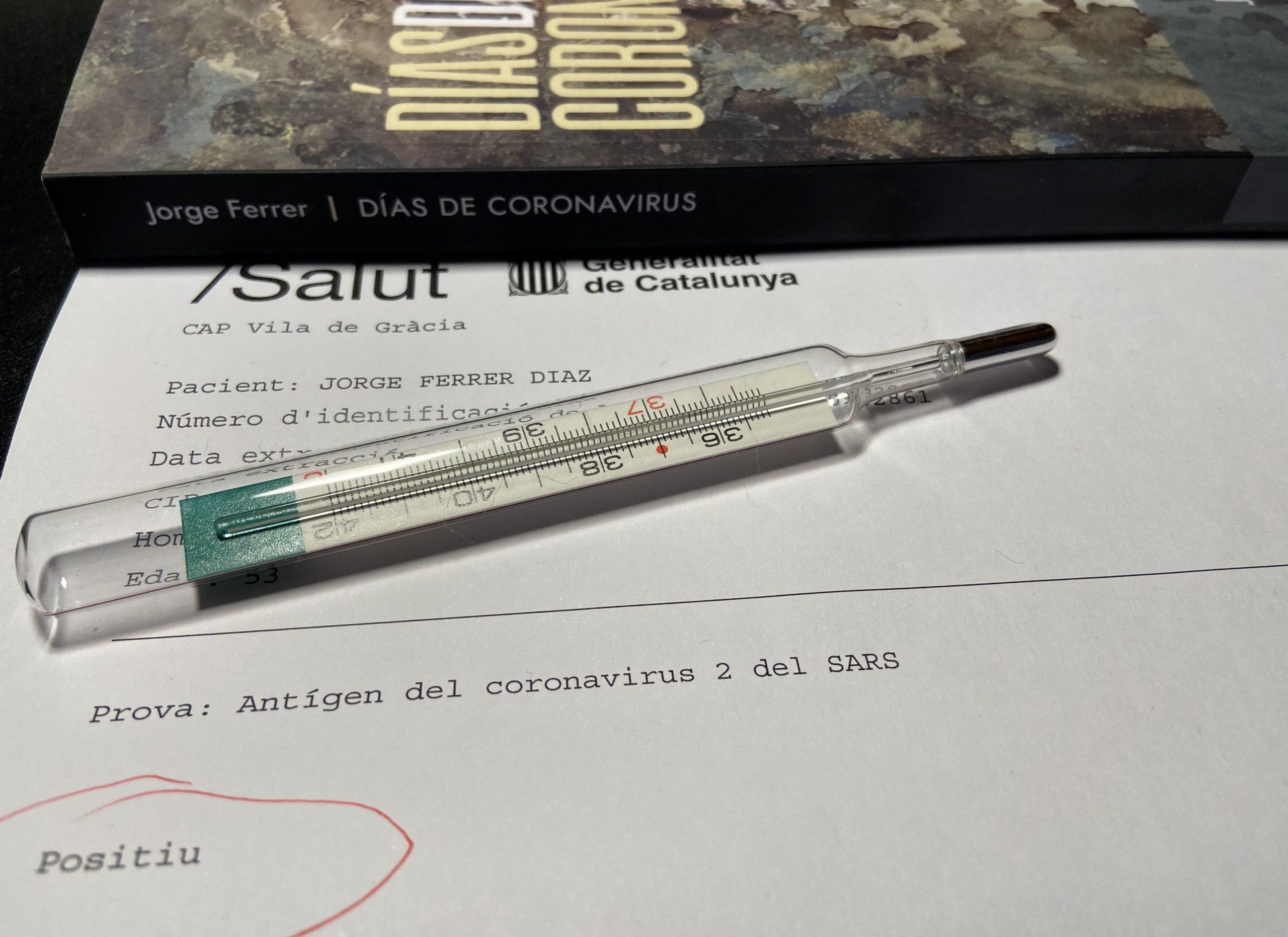 Resultado de test de Covid-19