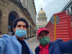 Luis Manuel Otero y Maykel Osorbo