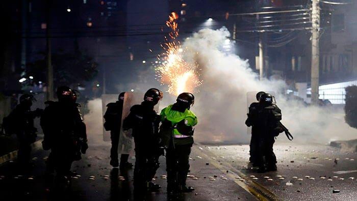 Sucesos en Colombia / Foto: Notiglobo-Twitter
