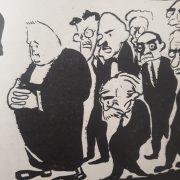 Caricatura de Rafael Blanco