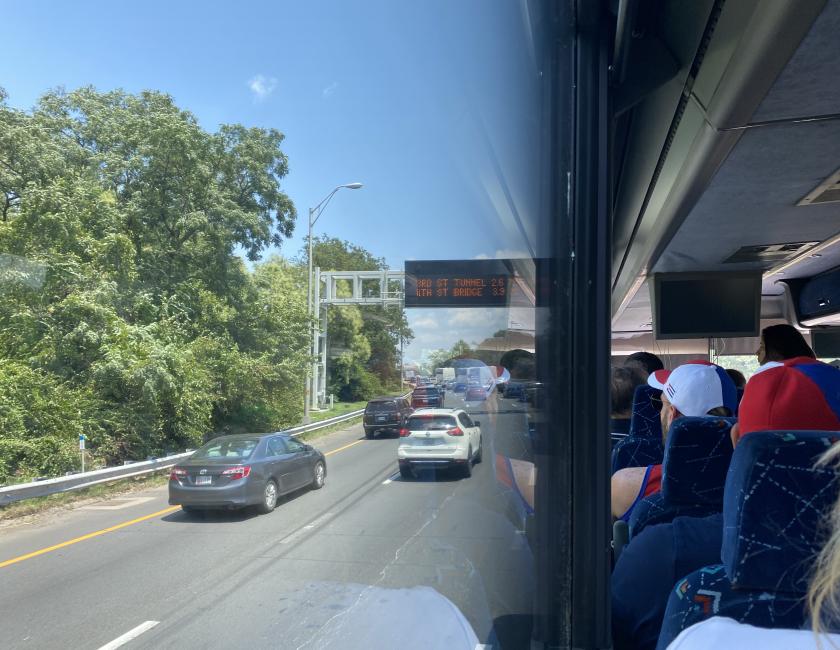 Caravana hacia Washington DC, 16 de julio de 2021 / Foto: Darcy Borrero