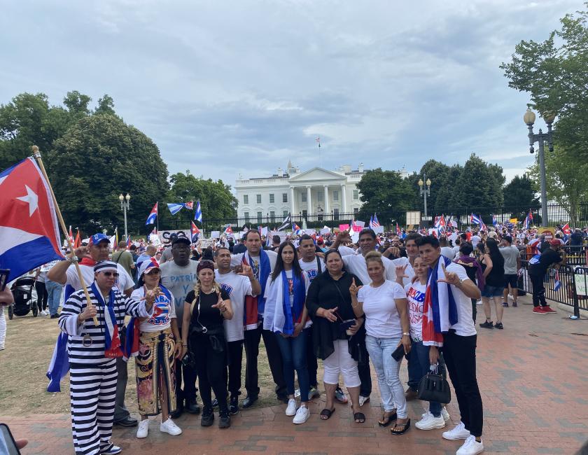 Washington DC, 17 de julio de 2021 / Foto: Darcy Borrero