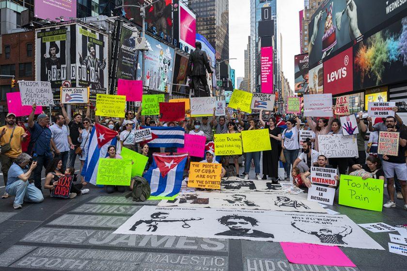 Time Square, Nueva York, 11 de julio de 2021 / Foto: Juan Caballero