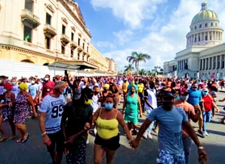 La Habana, 11 de julio de 2021 / Foto: Tomada de Facebook