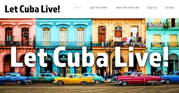 Portada de Let Cuba Live!