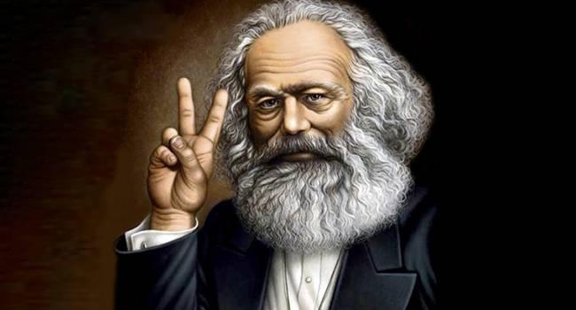 Caricatura de Karl Marx
